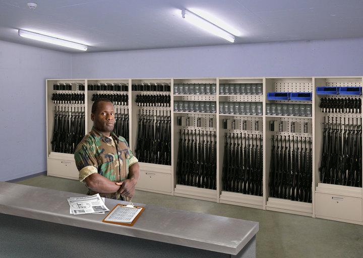 weapons storage