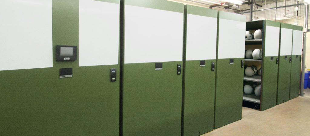 military equipment storage