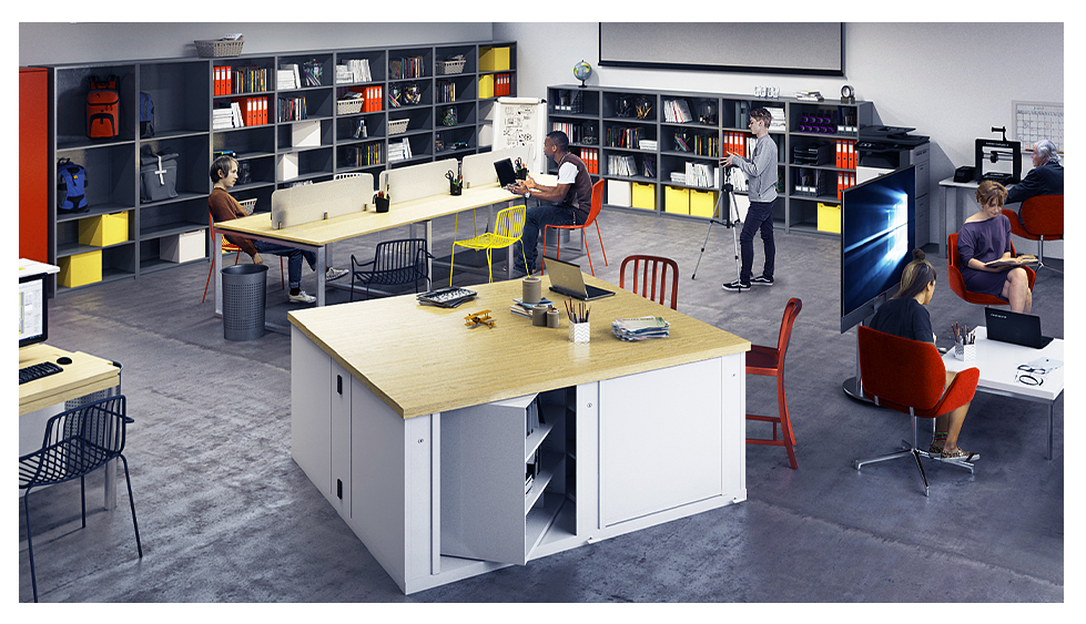 Library space design