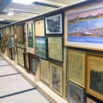 painting prints frame storage museum art storage
