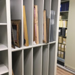 tall art storage shelves, cubbies, shelving
